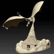 Imprimir en 3D gratis Juego de Tronos Dragón, RodrigoMoraes