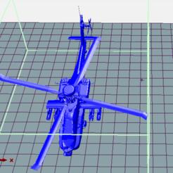 3D printer models AH-64 Helicopter, POSEIDON35