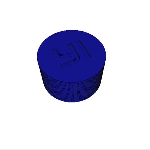 Download free 3D printer files YI camera lens cover, hugovrd