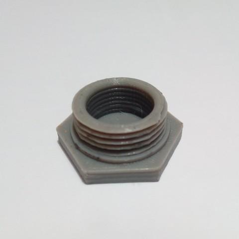 Free 3D printer model Tapón a rosca de registro, ChemaSalazarPera