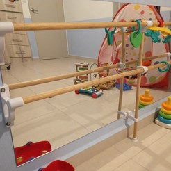 IMG_20201119_012747680.jpg Download free STL file Baby Gym • 3D print object, Locobi