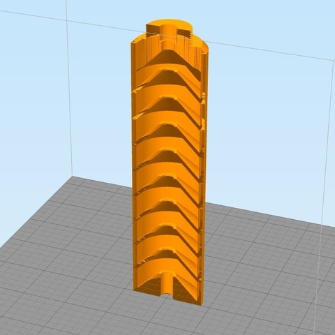 silencieux cone.jpg Download STL file Urban Sniper airsoft/ Mauser Well • Design to 3D print, JulienJarry31