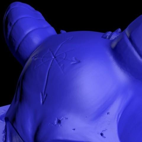 5.jpg Download STL file Temple skull • 3D printing model, cesarast