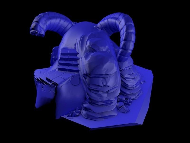 4.jpg Download STL file Temple skull • 3D printing model, cesarast