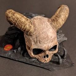 Imprimir en 3D Temple skull, cesarast