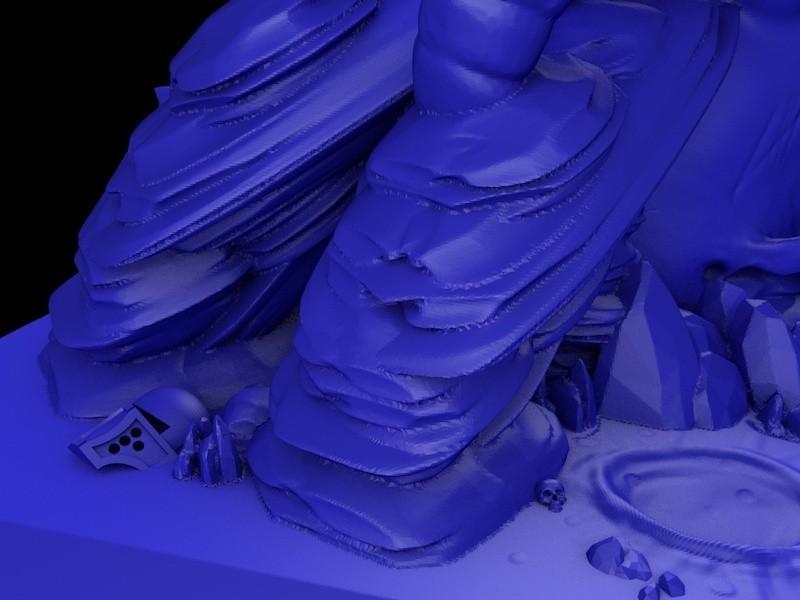 6.jpg Download STL file Temple skull • 3D printing model, cesarast