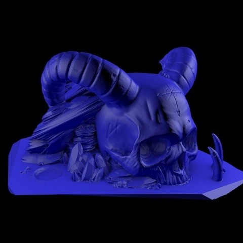 3.jpg Download STL file Temple skull • 3D printing model, cesarast