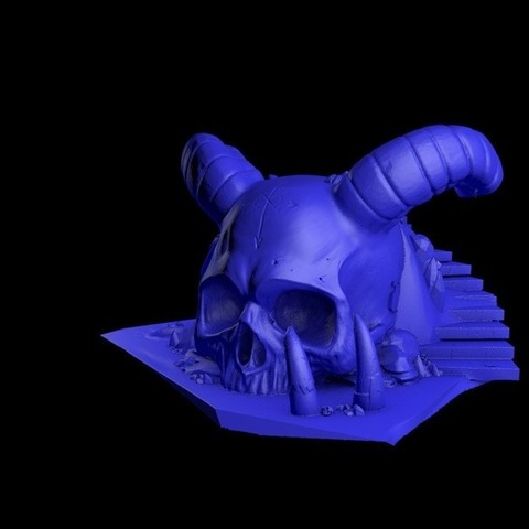 2.jpg Download STL file Temple skull • 3D printing model, cesarast