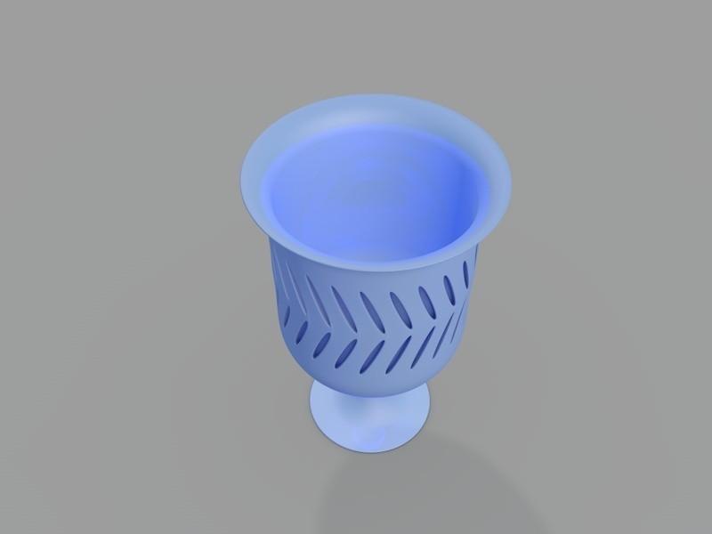 y.jpg Download STL file Bath cup • 3D printable model, cesarast
