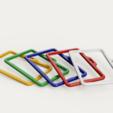 Download free 3D printing designs Simple badge holder V2, PaulNotenboom