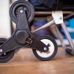 Télécharger fichier STL gratuit Pièce de rechanges pour chariot caddie 3 roues • Modèle pour impression 3D, Barbe_Iturique
