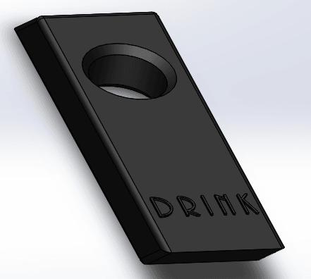 porte bouteille.png Télécharger fichier STL gratuit Gravity Hack • Objet pour imprimante 3D, BenjaminGrs