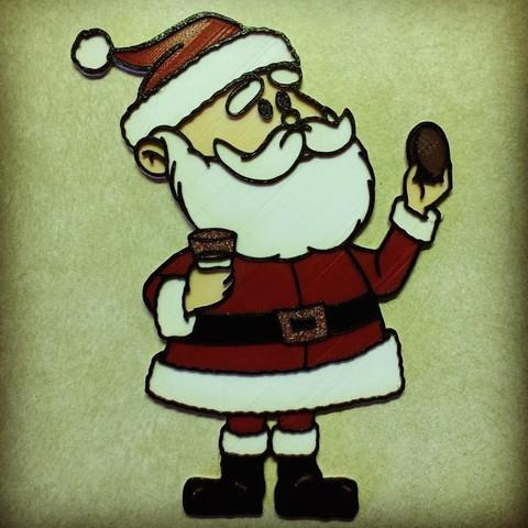 Free 3D printer model Rudolph - Santa Claus, DomDomDom