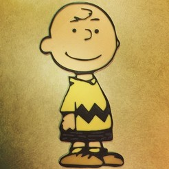 Download free 3D printer designs Peanuts - Charlie Brown, DomDomDom