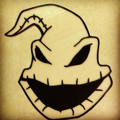 Download free 3D printing designs Oogie Boogie - Nightmare Before Christmas, DomDomDom