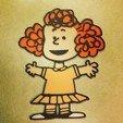 Download free 3D printer files Peanuts - Frieda, DomDomDom