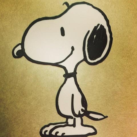 Free STL file Peanuts - Snoopy, DomDomDom