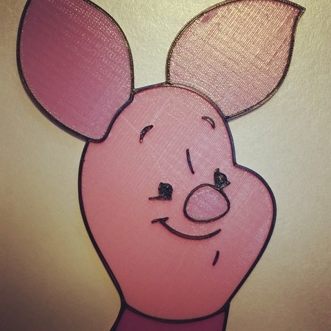 Free STL files Piglet - Winnie the Pooh, DomDomDom