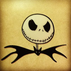 Download free 3D printing models Jack Skellington - Nightmare Before Christmas, DomDomDom