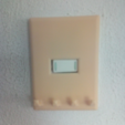 Free stl light switch cover, goncastorena