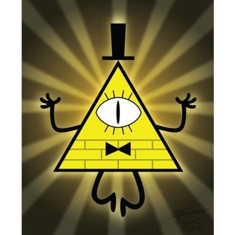 Free 3D file bill cipher (gravity falls), goncastorena