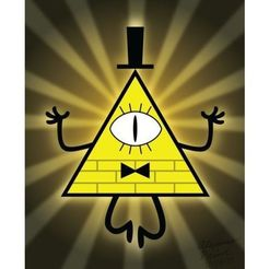 Download free STL bill cipher (gravity falls), goncastorena