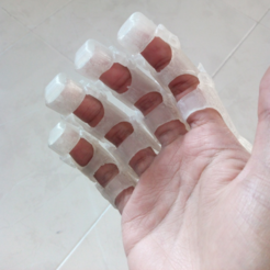 Free 3D printer model iron man fingers, goncastorena