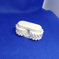 Download free 3D printer files V-shape gears, goncastorena