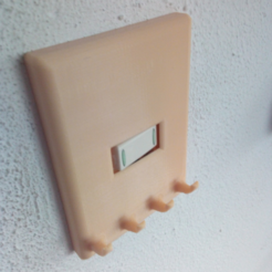 Download free 3D printer designs light switch cover, goncastorena
