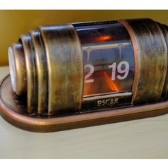Free 3D printer files Art Deco Flip Clock (Bioshock), Oscarko