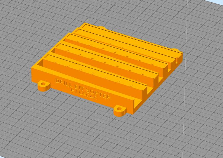 drillsort.png Download STL file The Amazing Drill Bit Sorter (imperial, fractional) • 3D printer object, Oscarko