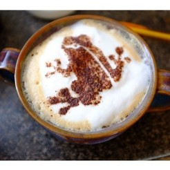 Download free 3D printing files Gatwick Frog - Cappuccino Stencil, Oscarko