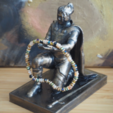 3D printing model Kneel before me! Holder for small items., Oscarko