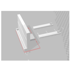 Imprimir en 3D Soporte para el teléfono del coche para el coche, ylanier