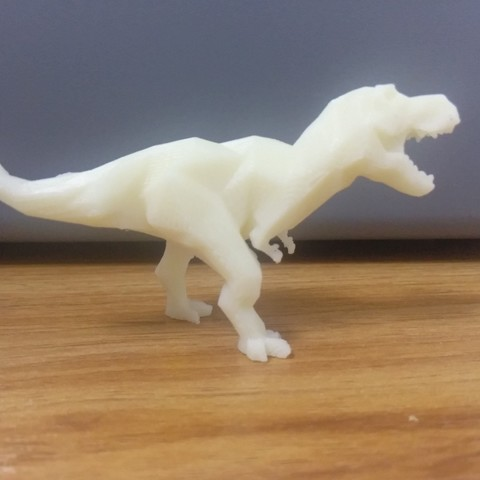 3D printing model Low-poly t-rex, BotJack