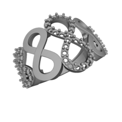 Free 3D print files Jewelry 3D CAD Model Womens Engagement Ring, hitman75