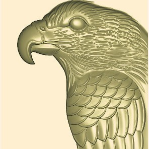 z9_副本_副本.jpg Download free STL file eagle relief model 3d stl for cnc • 3D printing design, stlfilesfree