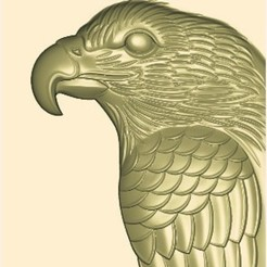 Download free STL file eagle relief model 3d stl for cnc, stlfilesfree