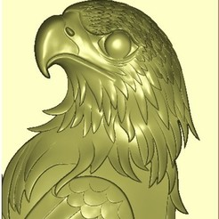 Free eagle 3d stl relief model 3D printer file, stlfilesfree