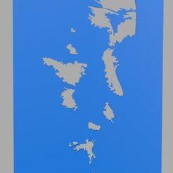 Ragnar.jpg Download STL file Ragnar Viking Stencil Stencil • Object to 3D print, Softail