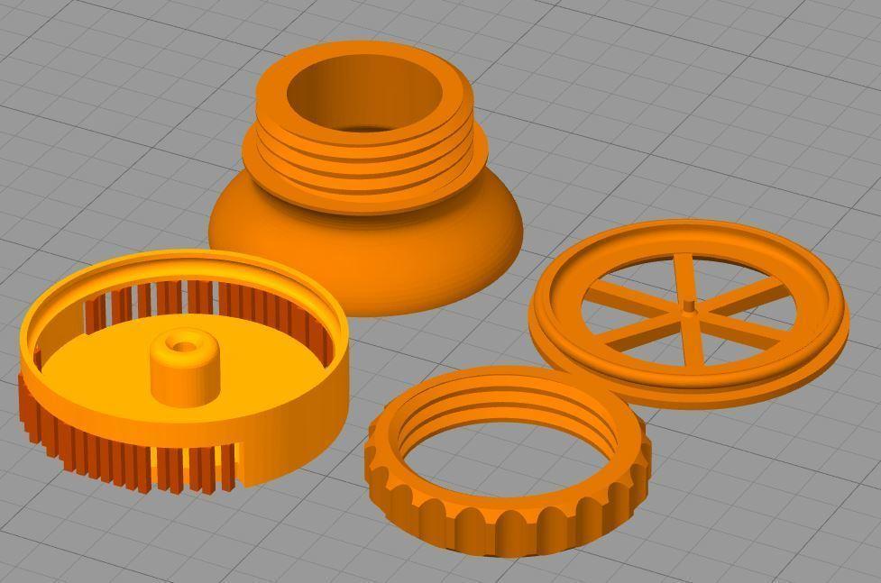supports.JPG Télécharger fichier STL gratuit Valve expiratoire universelle pour les masques • Modèle pour imprimante 3D, faisca2000
