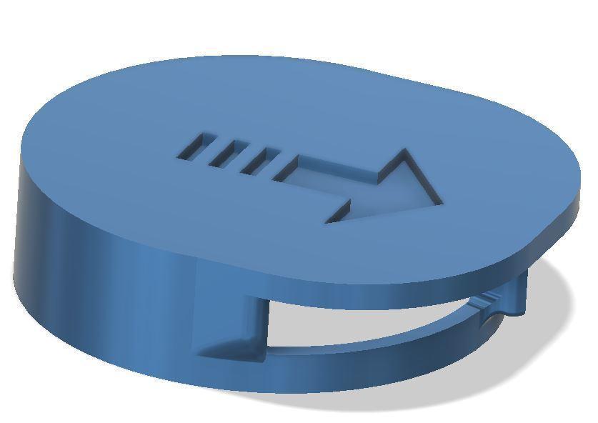 direcionado2.JPG Télécharger fichier STL gratuit Valve expiratoire universelle pour les masques • Modèle pour imprimante 3D, faisca2000