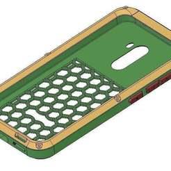 capa1.JPG Download free STL file Pocophone F1 Armor Case • 3D printing design, faisca2000