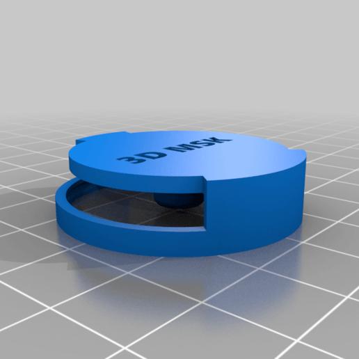valvola-2.png Télécharger fichier STL gratuit Valve expiratoire universelle pour les masques • Modèle pour imprimante 3D, faisca2000