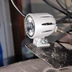 IMG_20190402_233238.jpg Télécharger fichier STL gratuit Vélo / vélo 3w LED Headlight Mount • Design pour imprimante 3D, faisca2000