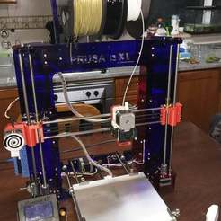 IMG_3916.JPG Download free STL file 3d Printer based on Anet a8 and prusa MK2 XL • Model to 3D print, faisca2000