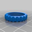 valvola-porca.png Télécharger fichier STL gratuit Valve expiratoire universelle pour les masques • Modèle pour imprimante 3D, faisca2000