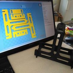Descargar archivo 3D gratis Soporte de carrete de filamento, LLH