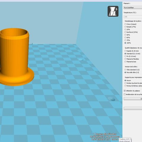 Embout piscine.JPG Download free STL file Above-ground pool vacuum cleaner nozzle • Model to 3D print, LLH