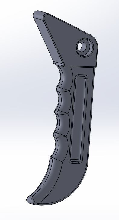 Vue persp.JPG Download free STL file Handle clamp plastic seal • 3D printing model, LLH